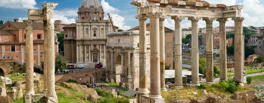 Wycieczka po Koloseum i Forum Romanum z odbiorem