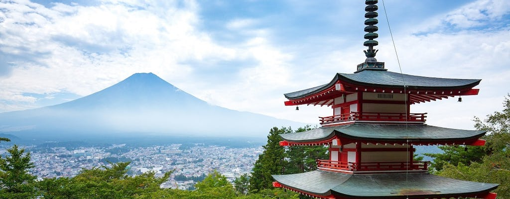 Mt Fuji and Lake Kawaguchi 1-Day bus tour