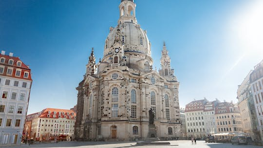Dresden city tour with interior visit of the Frauenkirche and Zwinger tour