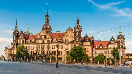Dresden Residence Palace Guided Tour with New Green Vault
