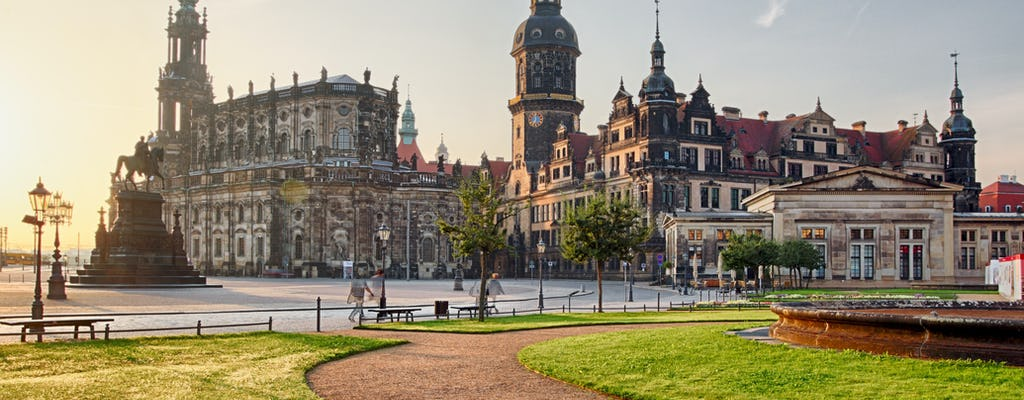 Introductory walking tour of Dresden