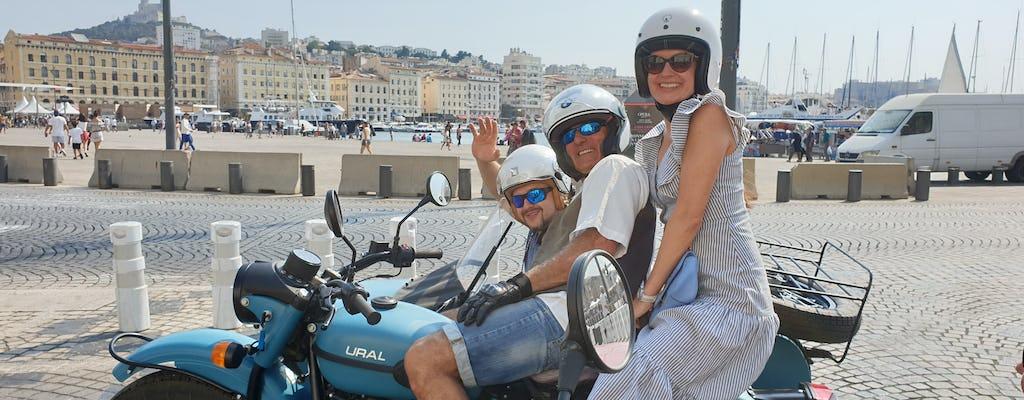 Side-car tour of Marseille