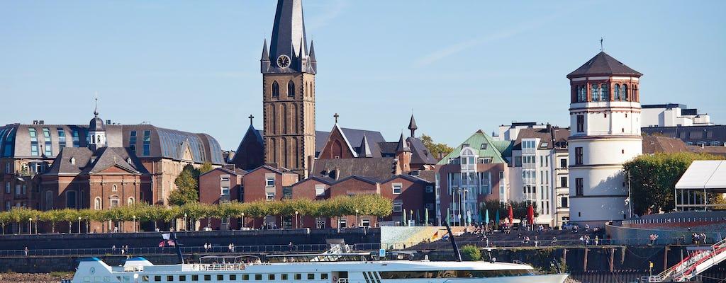Passeio pela cidade velha e Altbier em Düsseldorf