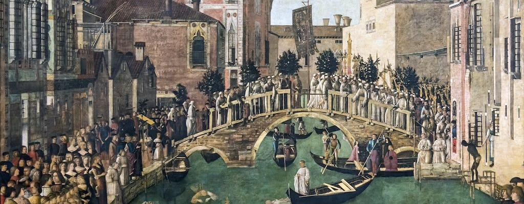 Tour privato della Galleria dell'Accademia di Venezia e del Sestiere Dorsoduro