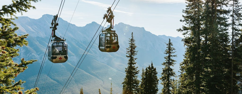 Banff gondola ride tickets