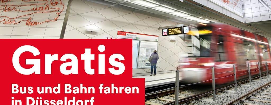 DüsseldorfCard with public transport for 24h,48h,72h or 96h