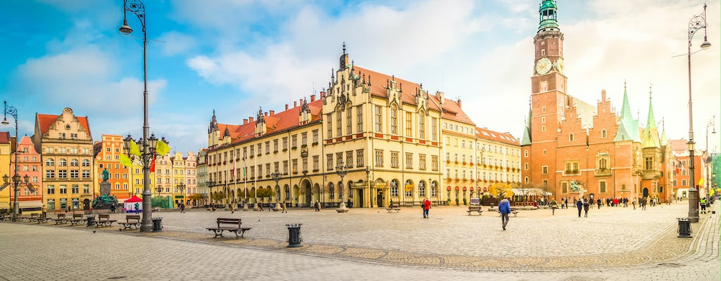 2.5-hour Wroclaw city tour by electric car