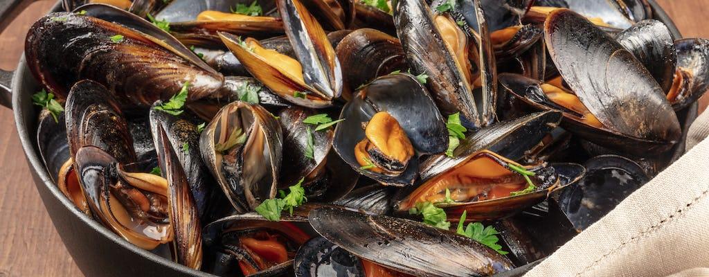 Visite du marché de La Spezia et cours de cuisine ligure
