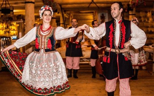Польский фольклорное шоу и традиционный ужин
