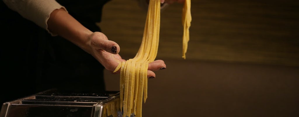 Pasta making class in the heart of Rome