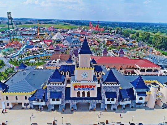 Excursión de un día al parque de atracciones Energylandia de Cracovia