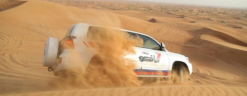 Prywatne poranne safari na pustyni z Dubaju