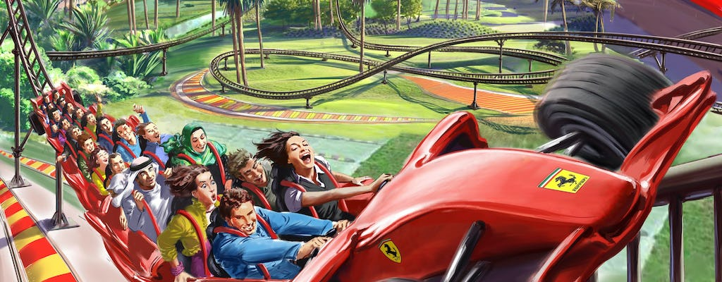 Ferrari World Standard Tickets with shared transfers from Dubai