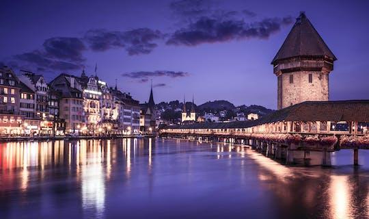 1.5-hour  Nightwatchman walk in Medieval Lucerne