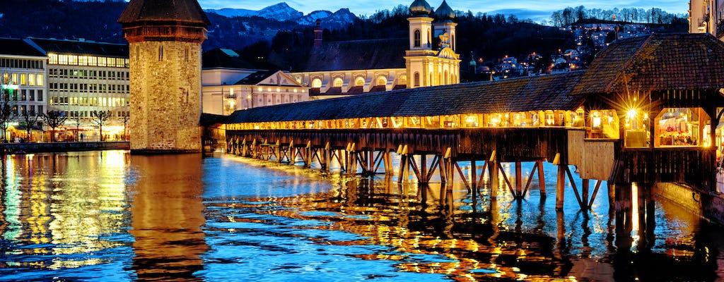 Balade nocturne nocturne d'une heure et demie dans la Lucerne médiévale
