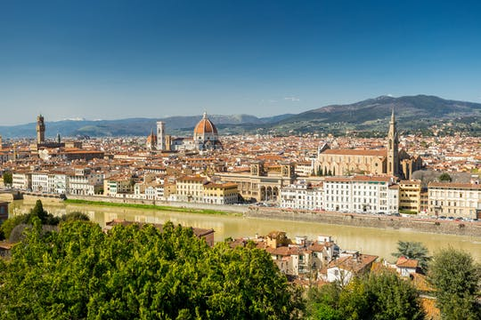 Trip to Florence from Rome by high-speed train