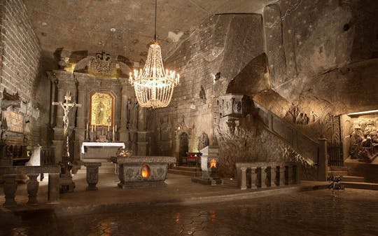 Wieliczka Salt Mine guided tour with private transport from Krakow