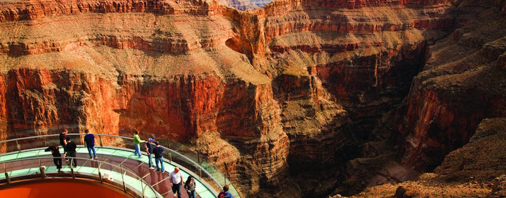 Grand Canyon West Rim VIP small group tour with helicopter and pontoon boat options