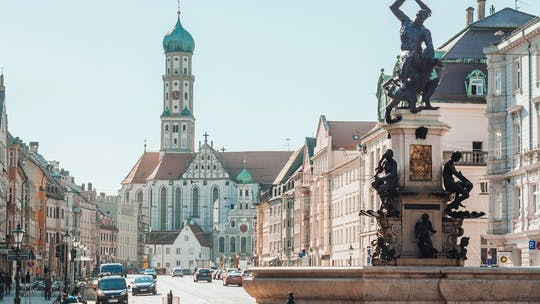 Passeio privado a pé por Augsburg