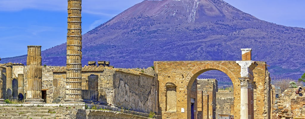 Tour of Naples and Pompei from Rome
