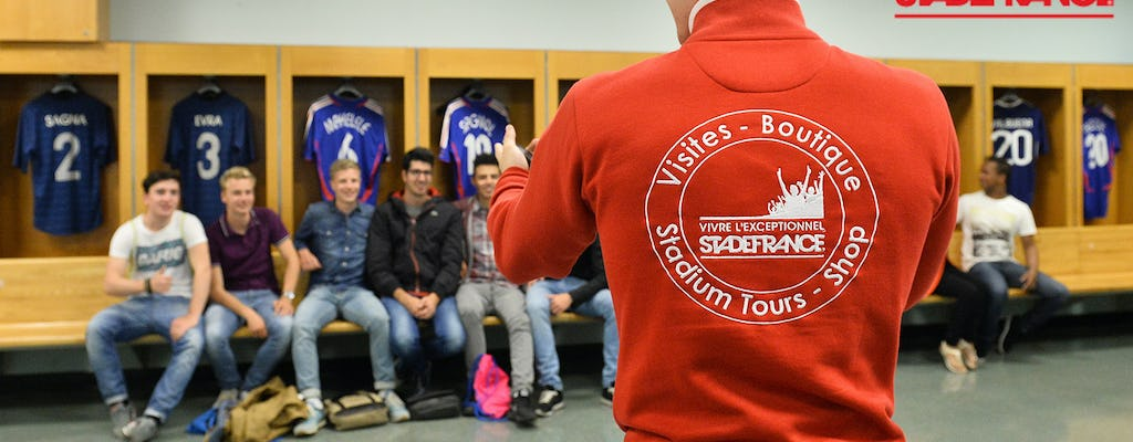 Guided tour behind the scenes of Stade de France