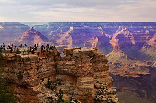 Grand Canyon National Park South Rim Luxury Bus Tour With Walking Tour Option
