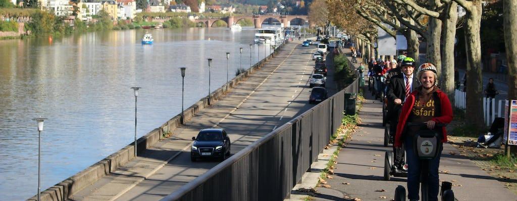 Mannheim Self-balancing scooter tour along the Neckar river