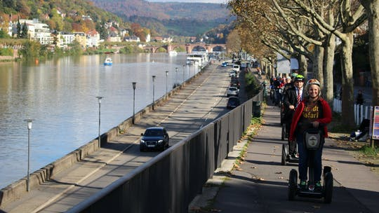 Mannheim Self-balancing scooter tour along the Neckar river