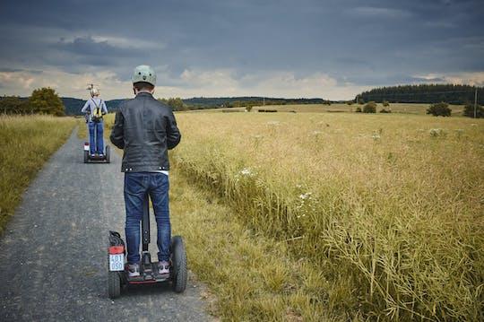 Tour mit E-Stehroller im Grüngürtel von Frankfurt-Höchst