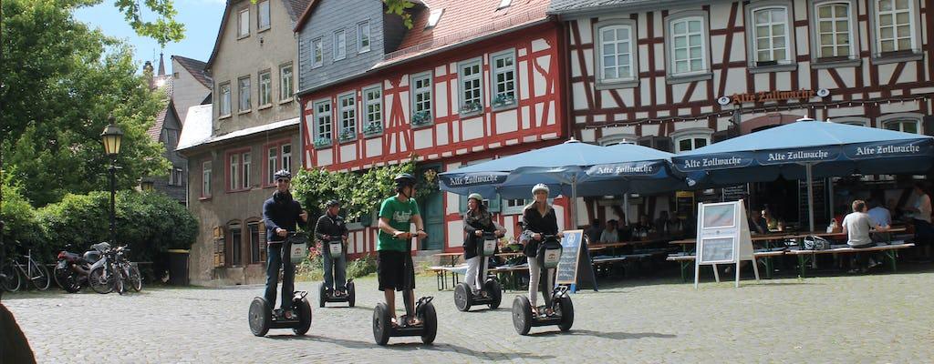 Tour in scooter autobilanciato della città di Francoforte-Höchst