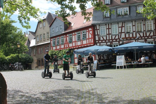 Frankfurt-Höchst Tour mit E-Stehroller