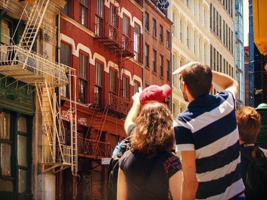 SoHo, Little Italy & Chinatown guided walking tour