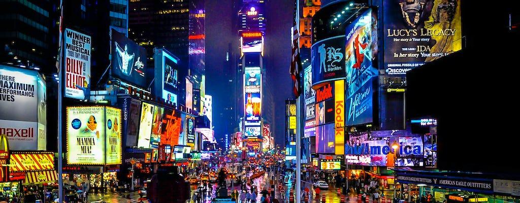 Tour guidato a piedi di Broadway e Times Square