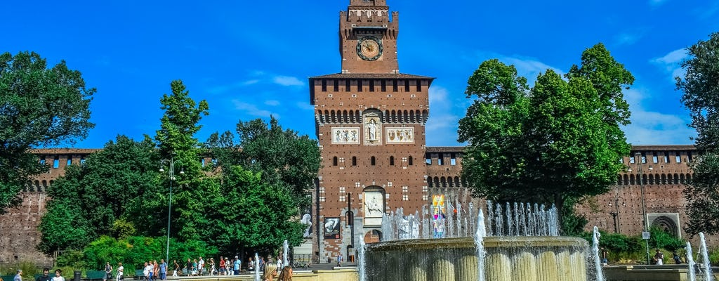 Private Tour of Sforza Castle, Triennale and Branca Tower