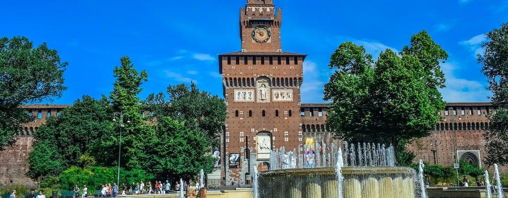 Tour privado del castillo Sforza, la Trienal y la torre Branca