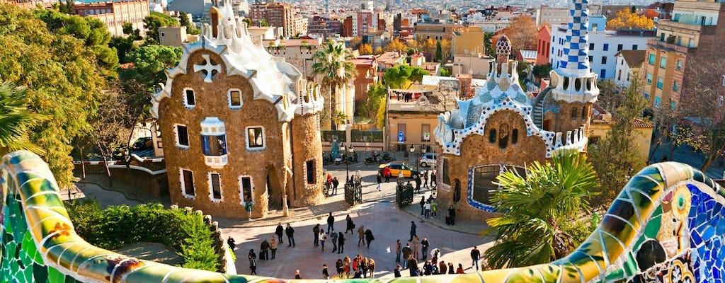 Recorrido fotográfico para Instagram por el Park Güell y las mejores vistas de Barcelona