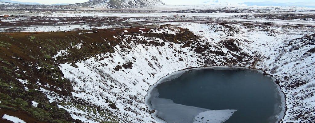 Recorrido por el Círculo Dorado y el cráter volcánico Kerid