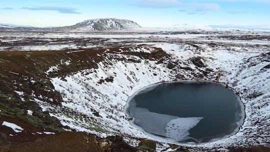Tour del Golden Circle e del cratere vulcanico di Kerid