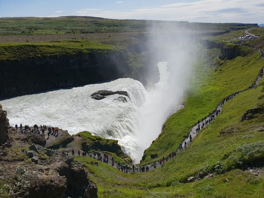 Tour of the Golden Circle, Blue Lagoon and Kerid Volcanic Crater