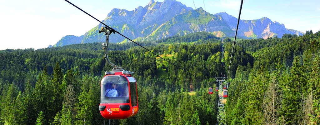 Silver roundtrip self-guided tour to Mount Pilatus from Lucerne