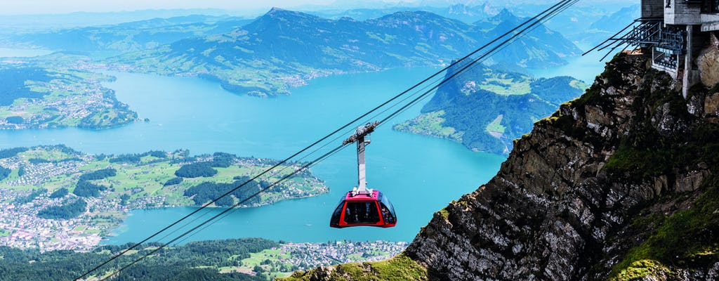 Golden roundtrip self-guided tour to Mount Pilatus from Lucerne