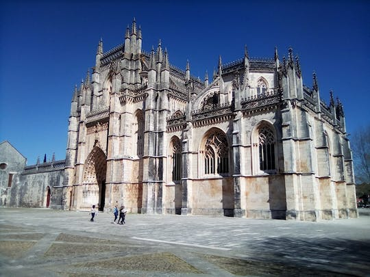 Knights Templar town of Tomar, Monasteries of Batalha and Alcobaca full-day tour
