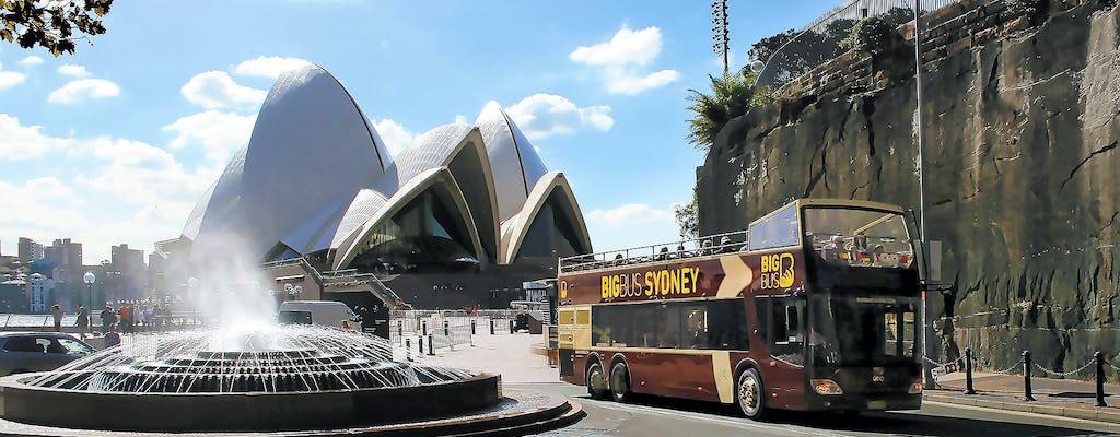 Hop-on hop-off Big Bus Sydney tickets