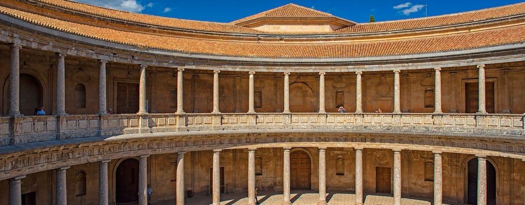 Visita guiada a la Alhambra, el Palacio de Carlos V,  las murallas y la primera tumba de los Reyes Católicos