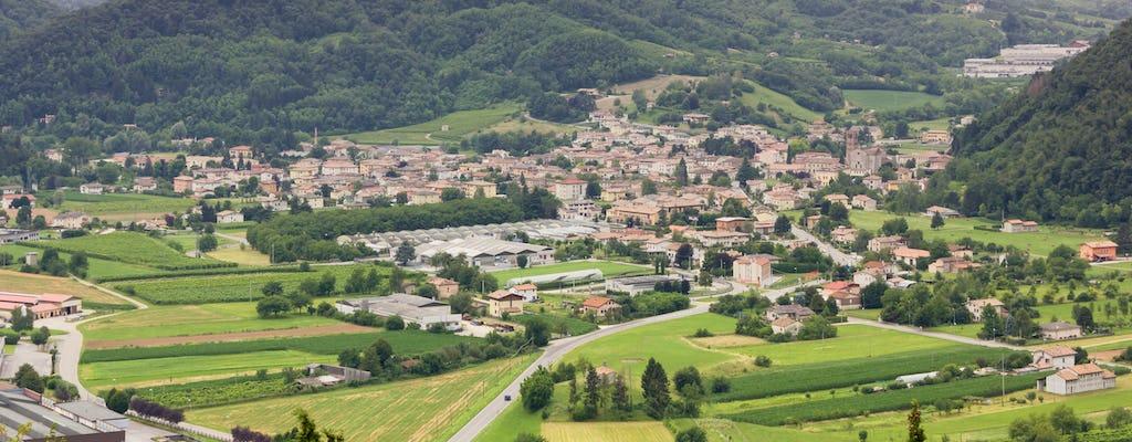 Excursion à vélo à Follina, Pianezze et Praderadego