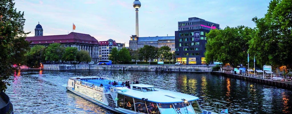 2.5-hour Berlin city cruise on the Spree River