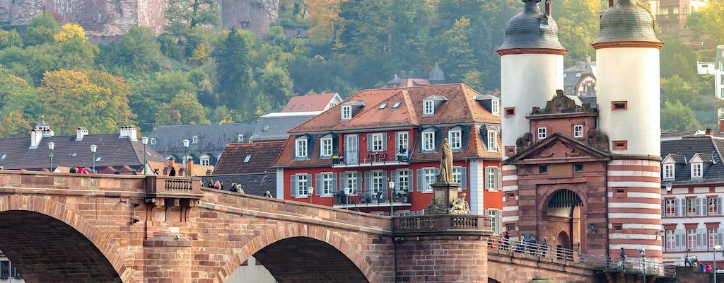 Prywatna piesza wycieczka po Heidelbergu z wizytą w zamku