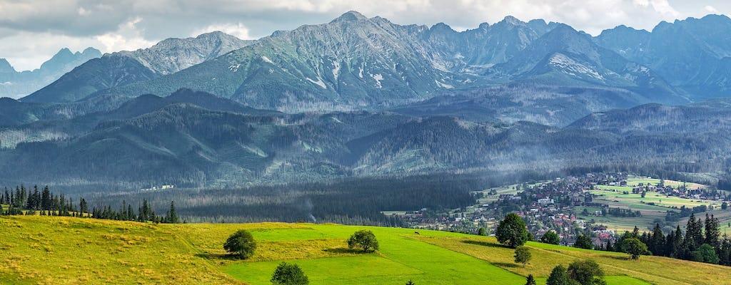 Explorez Zakopane par vous-même en visitant la montagne Gubalowka, les piscines thermales ou le saut à ski