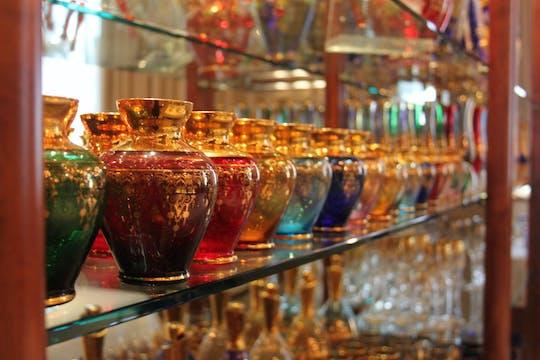 Aprende arte de vidrio soplado en la isla de Murano