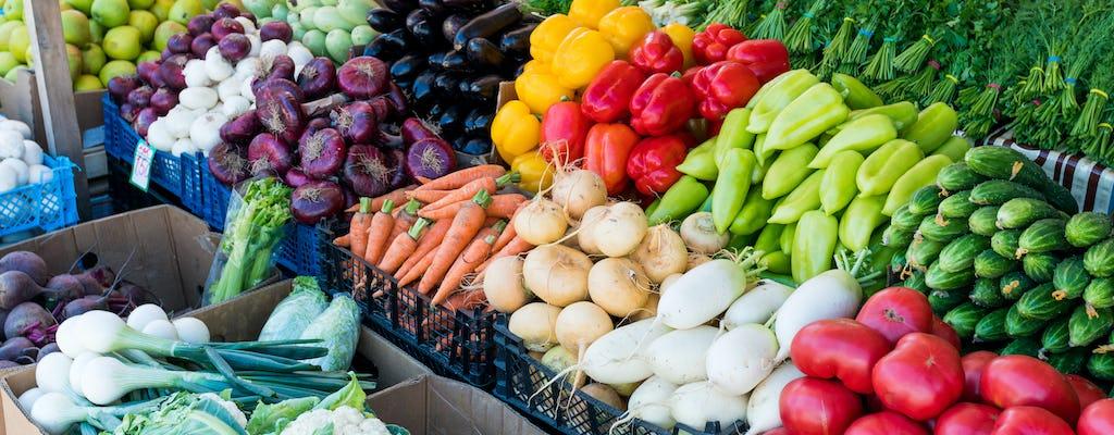 Tour del mercato ed esperienza culinaria presso la casa di una Cesarina a Palermo